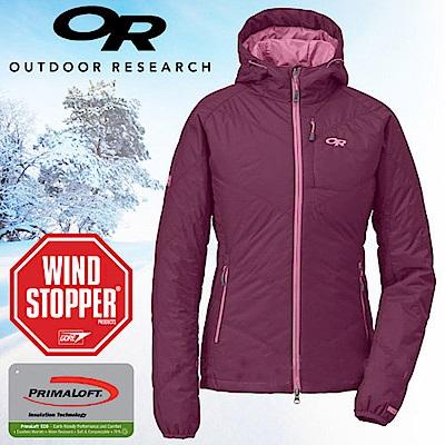 Outdoor Research 女 頂級超輕高抗水連帽保暖科技羽絨外套_紫