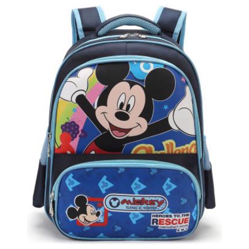 DF 童趣館 - 正版迪士尼男孩閃電麥坤/米老鼠透氣後背包-共2款