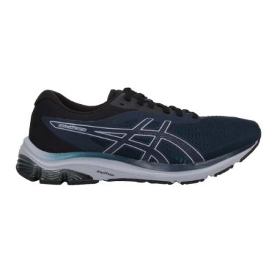 ASICS GEL PULSE 12 男慢跑鞋-運動 路跑 亞瑟士 1011A844-403 藍綠黑