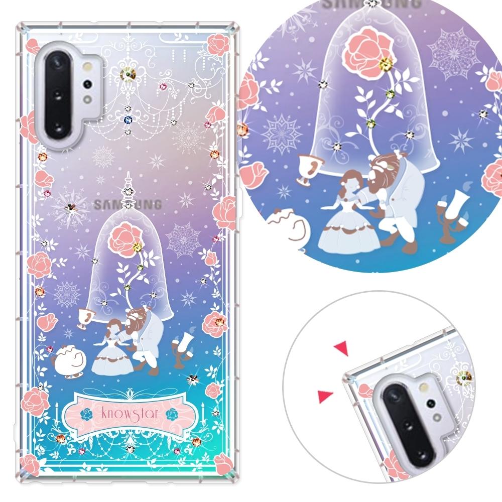 KnowStar 三星 Note10+ 6.8吋 奧地利彩鑽防摔手機殼-真愛