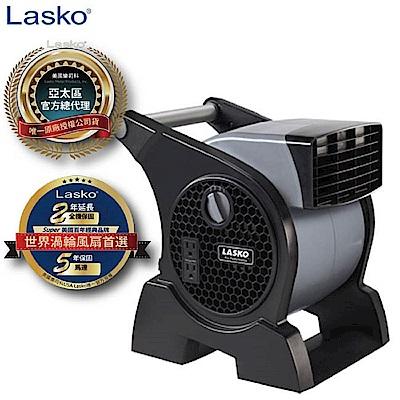 美國Lasko 威力星噴射渦輪多功能插座高效風扇 4905TW 買大送小贈八吋循環扇