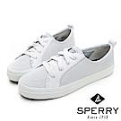 SPERRY 經典氣孔設計懶人休閒鞋-(女)-白色