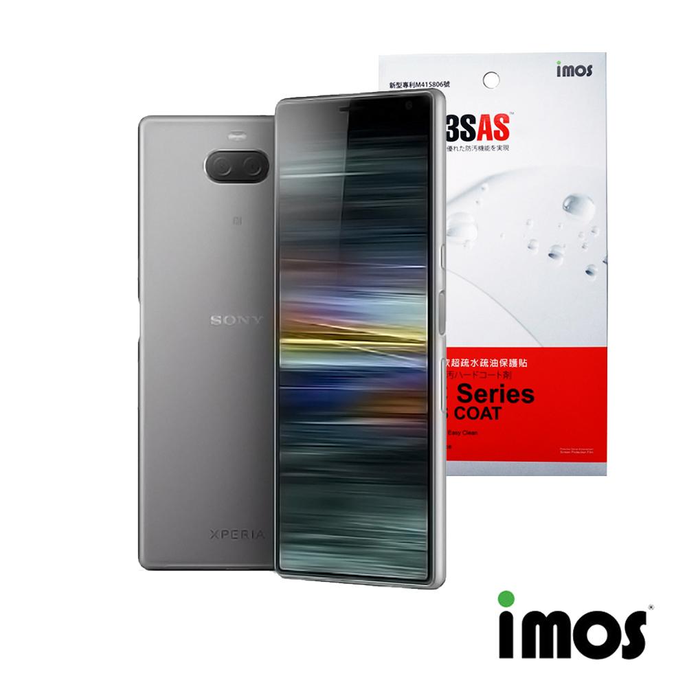 iMos Sony Xperia 10 超抗撥水疏水疏油效果螢幕保護貼