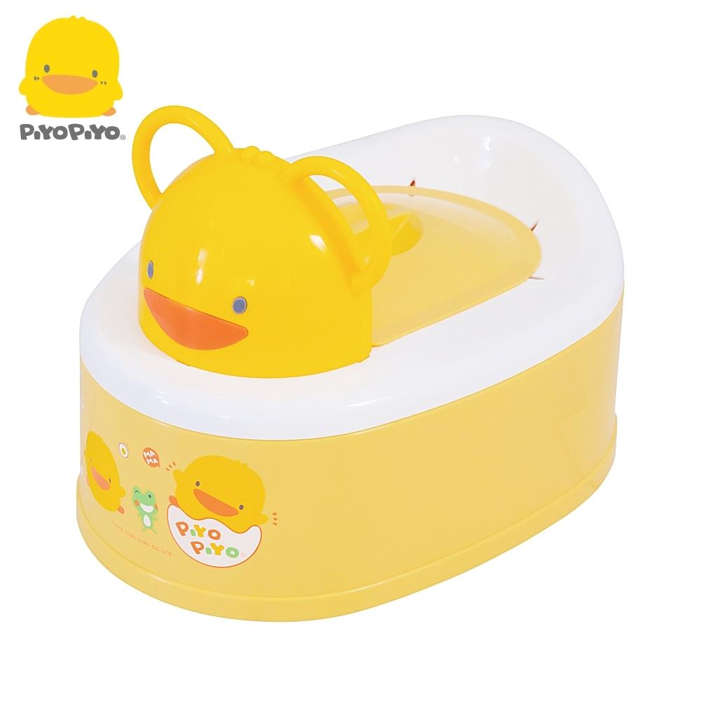 【任選】黃色小鴨《PiyoPiyo》兩段式功能造型幼兒便器