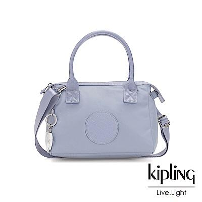 Kipling 亞洲限定款寧靜藍小巧手提肩背包-LERIA