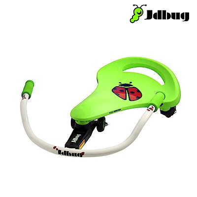 Jdbug 兒童扭扭車TC66 蘋果綠