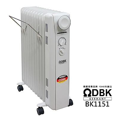 ΩDBK葉片式恆溫電暖爐(11葉片) BK1151