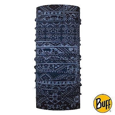 《BUFF》Plus經典頭巾-丹寧圖紋 BF117932-766