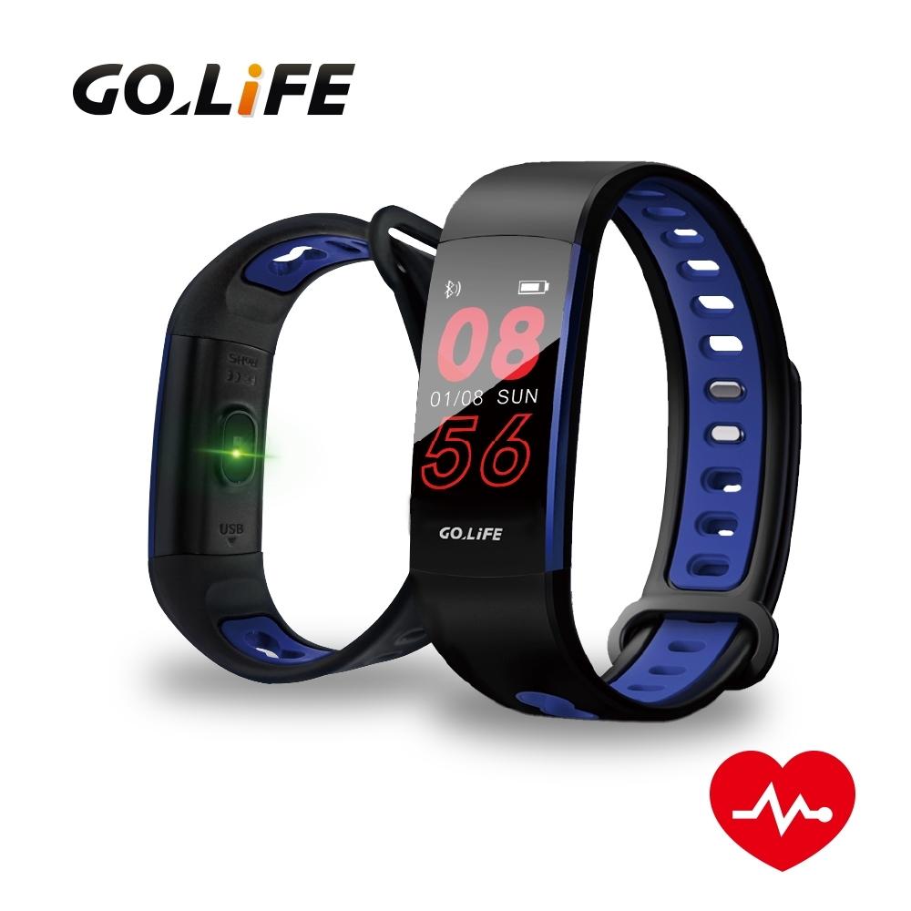 【GOLiFE】Care P 藍牙智慧全彩觸控心率手環(腕式光學心率感測技術)