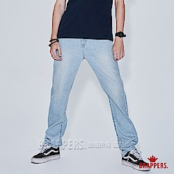 男款HM中腰系列-全棉直筒褲