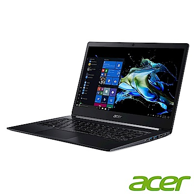 Acer TMX314-51-M-53AV 14吋商用筆電(i5-8265U/8G/256G SSD/黑)