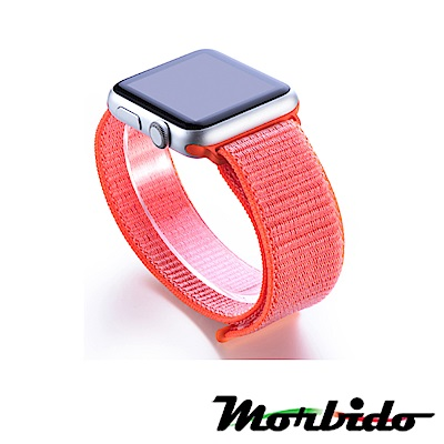 Morbido蒙彼多Apple Watch 38mm尼龍編織運動錶帶