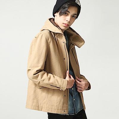 M51內鋪棉軍裝基本款羊毛外套(10色) ZIP日本男裝