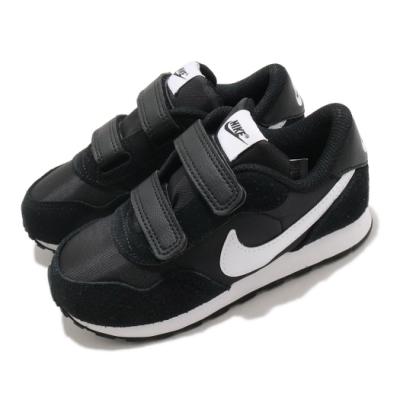Nike 休閒鞋 MD Valiant 運動 童鞋 基本款 簡約 舒適 魔鬼氈 穿搭 黑 白 CN8560002
