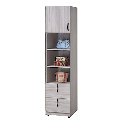 D&T德泰傢俱 白雪松1.5尺衣物收納櫃-45.5x58x190(cm)