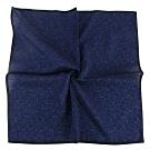 Calvin Klein CK滿版字母男士手帕/帕巾(藍色)