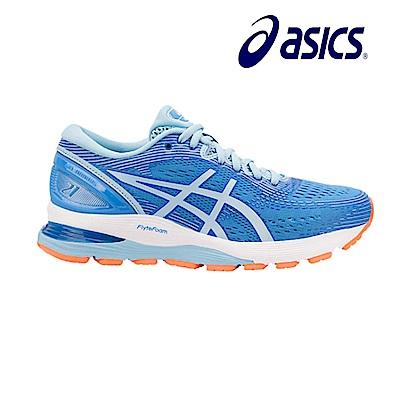 Asics 亞瑟士 GEL-NIMBUS 21 (D) 寬楦 女慢跑鞋