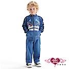 天使霓裳 運動明星 外套長褲兩件組童裝套裝(藍)