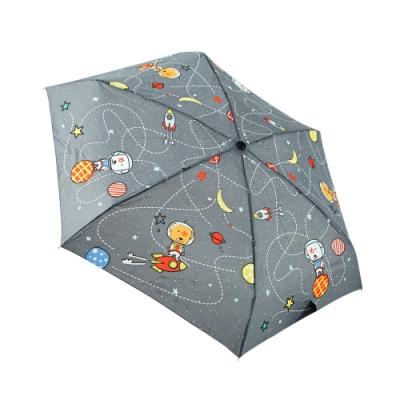 RAINSTORY火箭狗狗(灰)抗UV手開迷你口袋傘