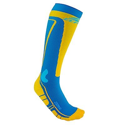 【ZEPRO】男女運動壓力襪-藍黃