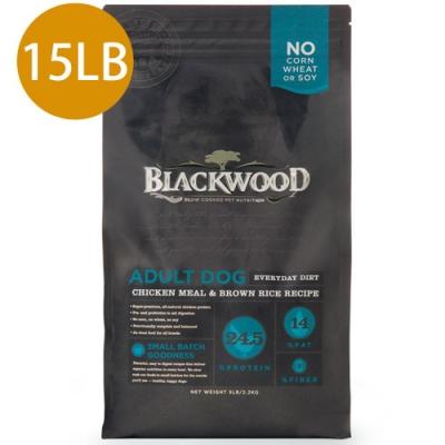 Blackwood柏萊富-特調成犬活力配方(雞肉+糙米)15LB