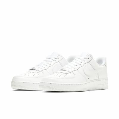 NIKE 休閒鞋 運動 經典款 AF1 皮革 男鞋 白 CW2288-111 Air Force 1 07