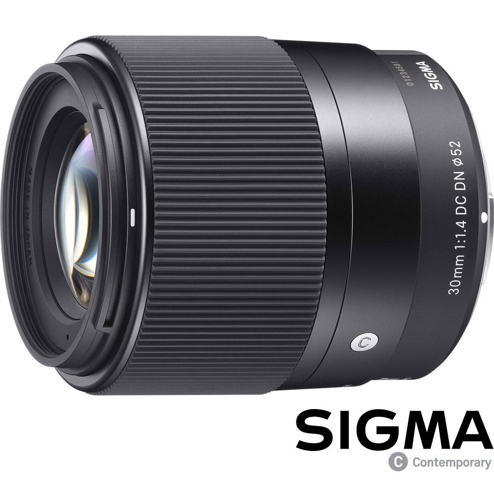 SIGMA 30mm F1.4 DC DN Contemporary (公司貨) 微單眼專用鏡頭