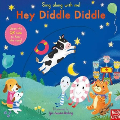 Sing Along With Me!Hey Diddle Diddle 操作書(英國版)