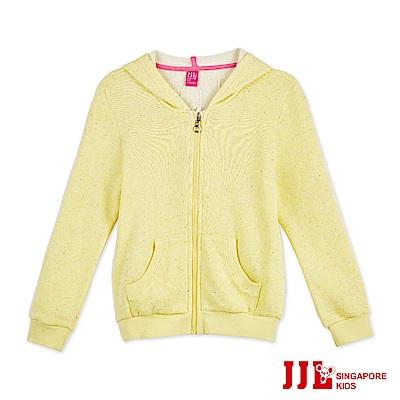 JJLKIDS 時尚噴彩造型連帽外套(檸檬黃)