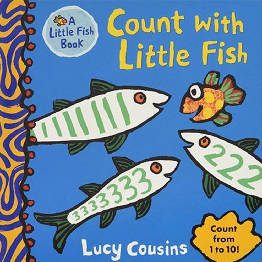 Count With Little Fish 小魚數數硬頁書