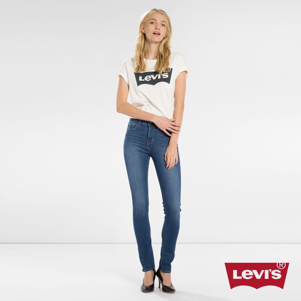 Levis 女款 311 中腰緊身塑形窄管 超彈力牛仔褲 專利縮腹修身設計