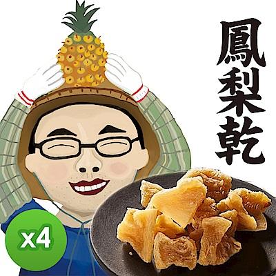 遊食趣 鳳梨乾(100g)x4包