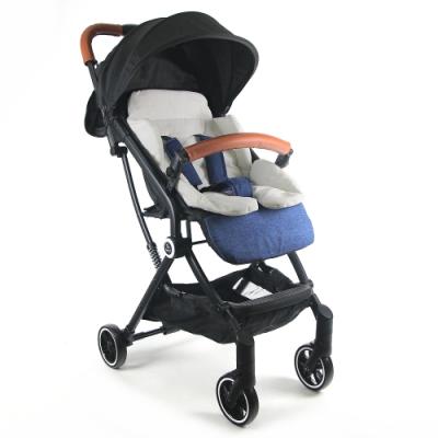 Yip Baby 抗震嬰兒登機推車-亞麻藍