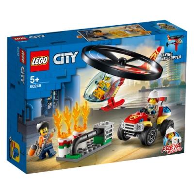 樂高LEGO 城市系列 - LT60248 消防直升機呼救