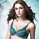 華歌爾 伊珊露絲深V摩登時尚B-C罩杯內衣(碧湖綠)