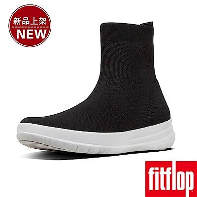 FitFlop UBERKNIT SOCK BOOTS-黑色
