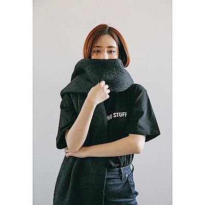 梨花HaNA 韓國追求看不到路的超長厚實圍巾