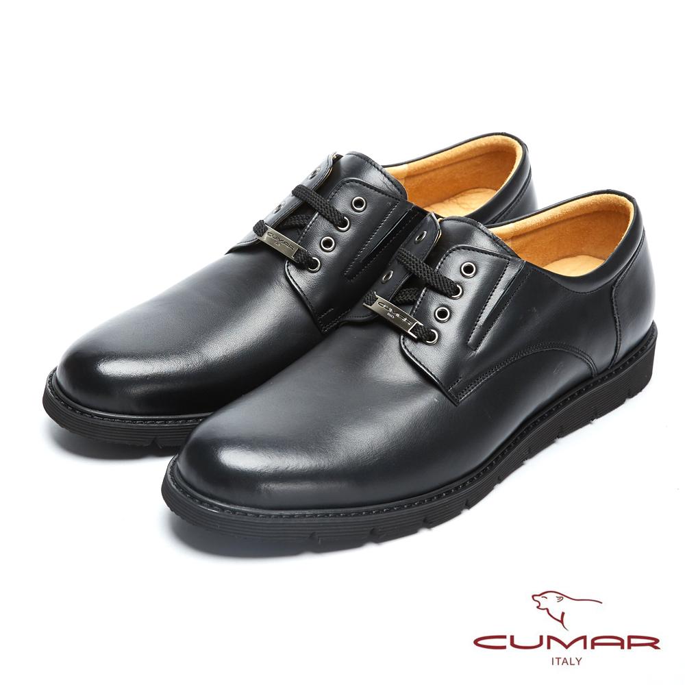 CUMAR英倫紳士 經典牛津舒適皮鞋-黑 @ Y!購物