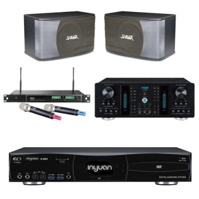 音圓N2+FNSD A-350+SK-8610+ACT-589(伴唱機 4TB+卡拉OK套組)
