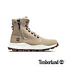 Timberland 男款淺褐色磨砂革側拉鏈靴|A1YMK