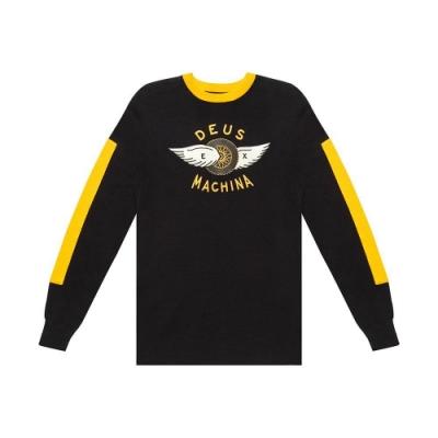 Deus Ex Machina Bardem Crew Knit圓領休閒衫-(黑)