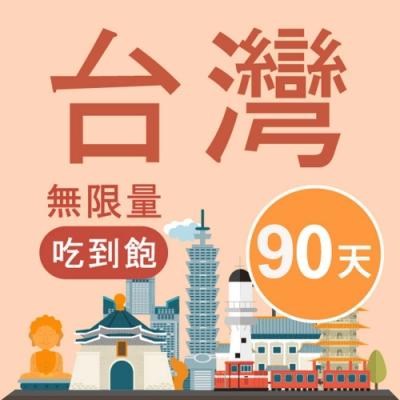【Smart Go】台灣 網卡 90天 高速4G 不降速 上網 吃到飽 上網 SIM卡 漫遊卡 快速出貨