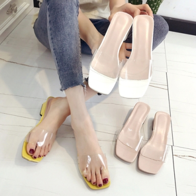 KEITH-WILL時尚鞋館年度精選女人話題休閒粗跟拖鞋