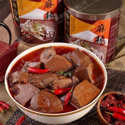 台灣在地ㄟ尚好-麻辣鴨血多多2罐組(2900g/罐)