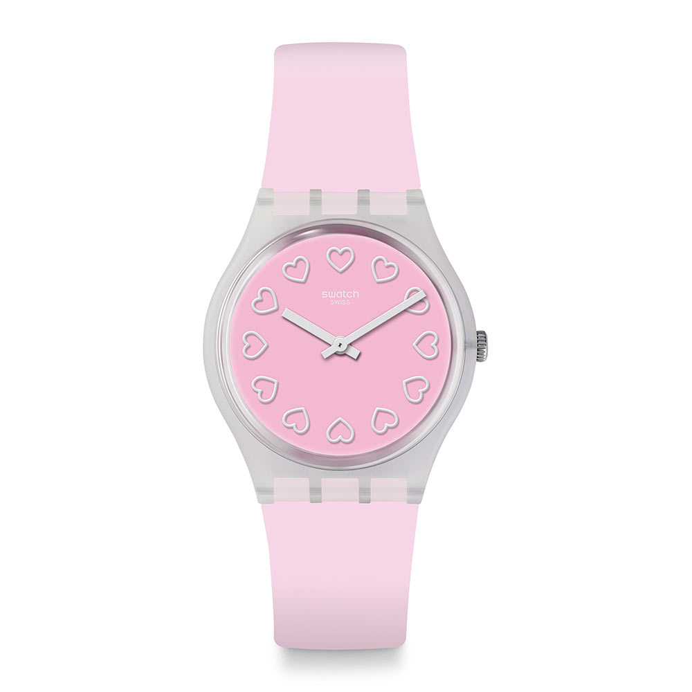 Swatch  Love is in the Air系列ALL PINK就是粉紅