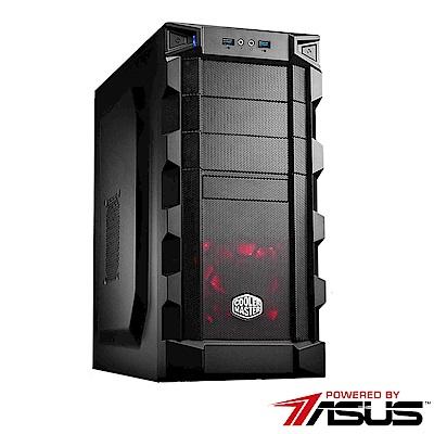(無卡分期12期)華碩B365平台 [ 風雷鬥士]i5六核RTX2070獨顯SSD電玩機