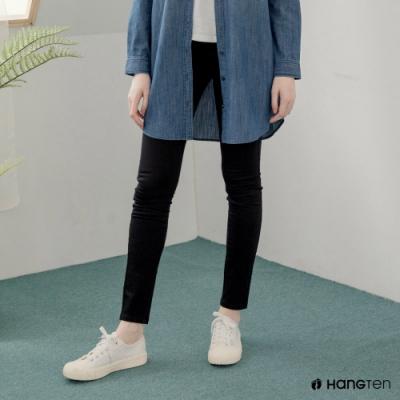 Hang-Ten-女裝-SUPER SKINNY FIT超緊身長褲-黑色