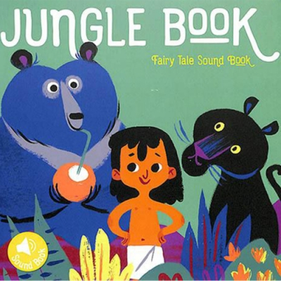 Jungle Book Fairy Tale Sound Book 森林王子音效書