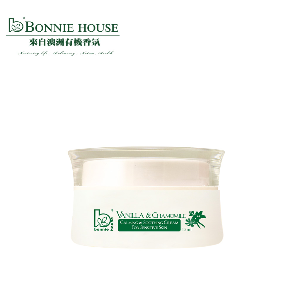Bonnie House 香子蘭洋甘菊舒緩低敏滋養霜15ml