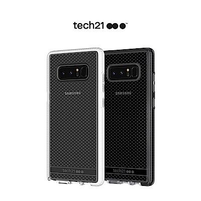 Tech21 英國 Evo Check Samsung Note 8 防撞軟質保護殼-透白